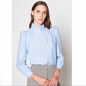 Joie Tandice B Martime Chambray Blouse